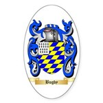 Bugby Sticker (Oval 50 pk)
