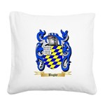 Bugby Square Canvas Pillow