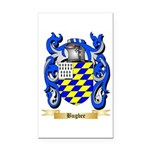 Bugbee Rectangle Car Magnet