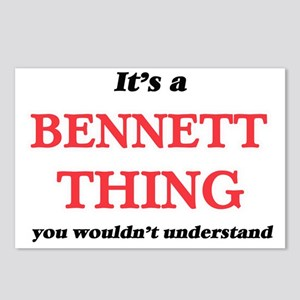It's a Bennett thing, Postcards (Package of 8)