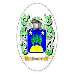Bueyero Sticker (Oval)