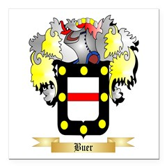 Buer Square Car Magnet 3