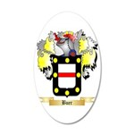 Buer 20x12 Oval Wall Decal
