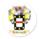 Buening Round Car Magnet