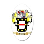 Buening 35x21 Oval Wall Decal