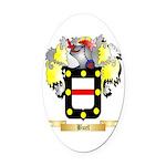 Buel Oval Car Magnet
