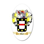 Buel 35x21 Oval Wall Decal
