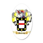 Buehring Oval Car Magnet