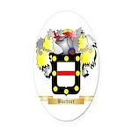 Buehner Oval Car Magnet