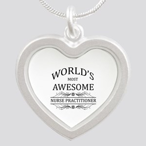 World's Most Awesome Nurse Practitioner Silver Hea