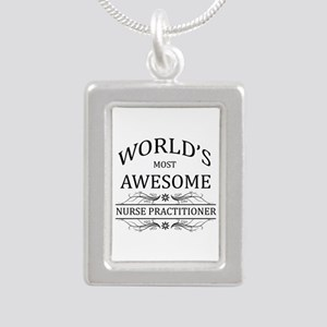 World's Most Awesome Nurse Practitioner Silver Por