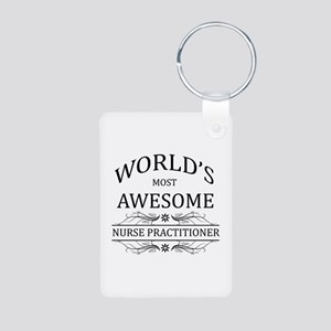 World's Most Awesome Nurse Practitioner Aluminum P