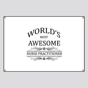 World's Most Awesome Nurse Practitioner Banner