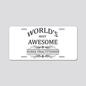 World's Most Awesome Nurse Practitioner Aluminum L