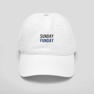 Sunday Funday (black / blue) Baseball Cap