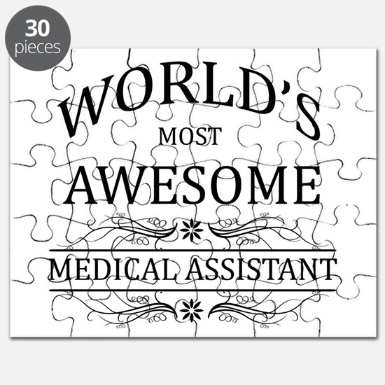 World's Most Awesome Medical Assistant Puzzle