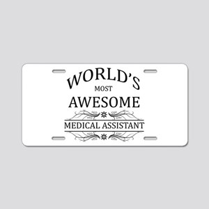 World's Most Awesome Medical Assistant Aluminum Li