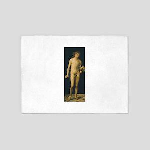 Albrecht Durers Adam 5'x7'Area Rug