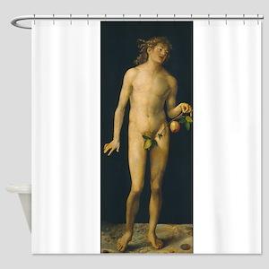 Albrecht Durers Adam Shower Curtain