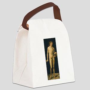 Albrecht Durers Adam Canvas Lunch Bag