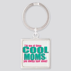 Cool Mom Square Keychain