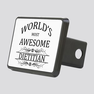 World's Most Awesome Dietitian Rectangular Hitch C