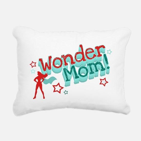 Wonder Mom Rectangular Canvas Pillow