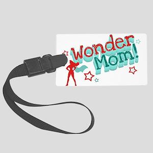 Wonder Mom Large Luggage Tag