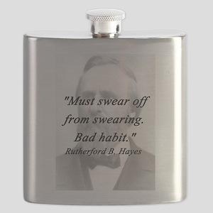 Hayes - Swearing Flask