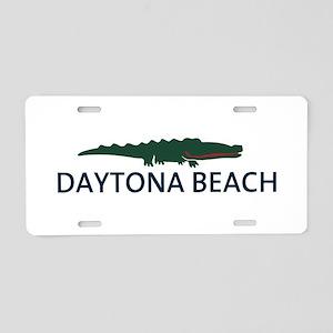 Daytona Beach - Alligator Design. Aluminum License