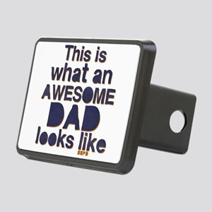 Awesome Dad Rectangular Hitch Cover