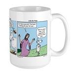 Cartoon Gospels Sheep Large Mug