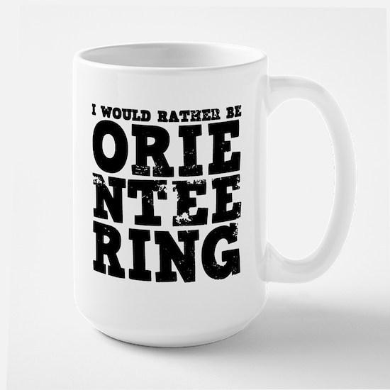 'Orienteering' Large Mug