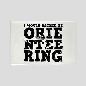 'Orienteering' Rectangle Magnet
