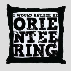 'Orienteering' Throw Pillow