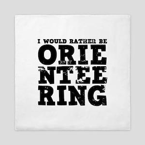 'Orienteering' Queen Duvet
