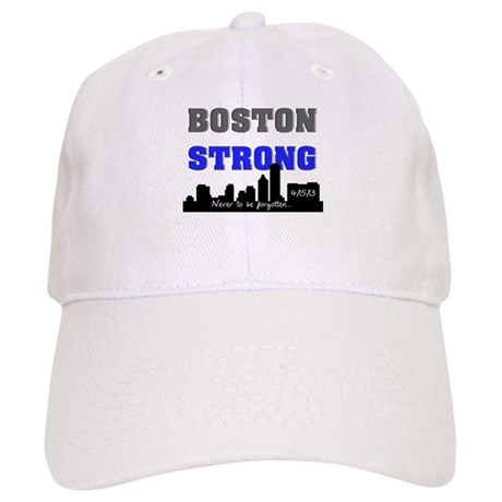 boston strong 60 blue Baseball Cap