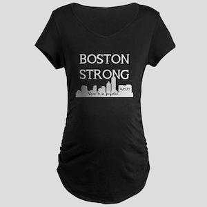 boston strong 59 darks Maternity T-Shirt