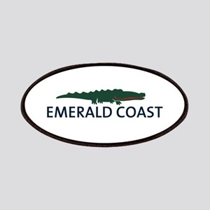 Emerald Coast - Alligator Design. Patches