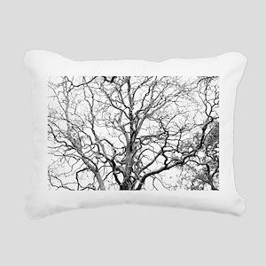 Tree branches Rectangular Canvas Pillow