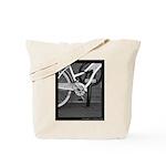 Bicycle on Fulton Street Tote Bag