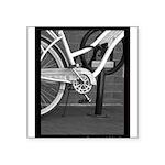 Bicycle on Fulton Street Sticker