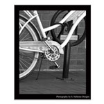 Bicycle on Fulton Street Posters