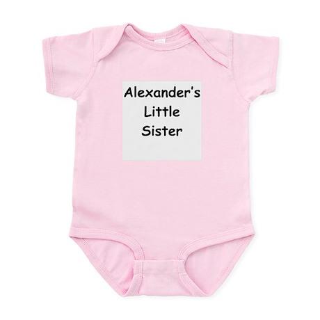 Alex's Little Sister Infant Bodysuit