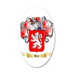 Bue 20x12 Oval Wall Decal