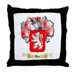 Bue Throw Pillow