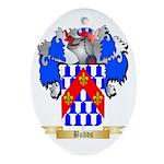 Budds Ornament (Oval)