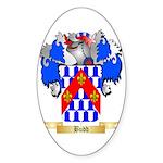 Budd Sticker (Oval 10 pk)