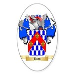 Budd Sticker (Oval 50 pk)