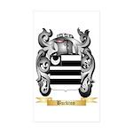 Buckton Sticker (Rectangle 50 pk)
